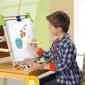 出口美国discovery kids发现孩子原装三合一多功能美术黑白画板