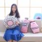 ins同款粉色小抱枕 创意印花养乐多甜甜圈靠垫 儿童房飘窗装饰萌